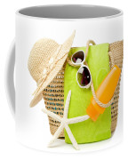 Day At The Beach Coffee Mug by Amanda Elwell
