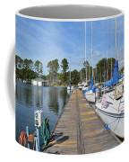 Sailboats On The Boardwalk Coffee Mug