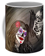 Day Of The Dead Good Vs Evil Coffee Mug