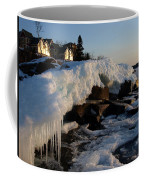 Daybreak At Cove Point Lodge Cottages Coffee Mug