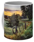 Daybreak Southwest Corner Fenceline Coffee Mug