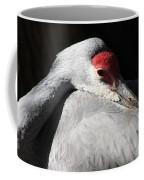Daydreaming Sandhill Crane Coffee Mug