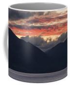 Days End On Lake Wakatipu Coffee Mug