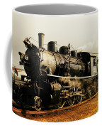 Days Of Steam And Steel Coffee Mug by Jeff Swan