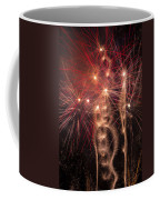 Dazzling Fireworks Coffee Mug