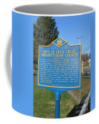 De-kc81 Site Of Duck Creek Presbyterian Church Coffee Mug