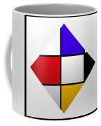 De Stijl Diamond Coffee Mug