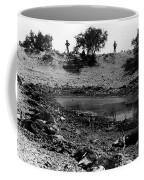 Dead Cattle Contaminated Water Hole Once In 100 Year's Drought Near Sells Arizona Tohono O'odham  Coffee Mug
