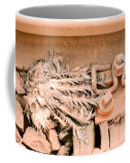 Dead Dove Decomposing In Railway Track Coffee Mug