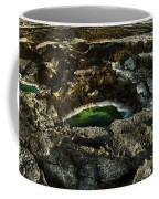 Dead Sea Sink Holes Coffee Mug by Dan Yeger