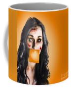 Dead Tired Worker Sick From Hard Work Coffee Mug