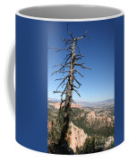 Dead Tree At Bryce Canyon  Overlook Coffee Mug