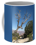 Dead Tree At Grand Canyon South Rim Coffee Mug