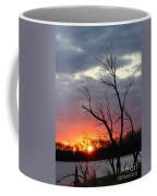 Dead Tree At Sunset Coffee Mug