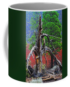 Dead Tree On Cinder At Sunset Crater Coffee Mug