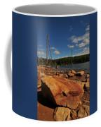 Dead Trees And Rocks Coffee Mug