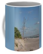 Dead Trees At The Seaside Coffee Mug