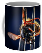 Dead Wasp On A Fork Coffee Mug