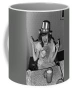 Debbie C. Celebrating July 4th Lincoln Gardens Tucson Arizona 1990 Coffee Mug