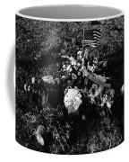 Debbie C's Grave American Flag Evergreen Cemetery Tucson Arizona 1991 Coffee Mug