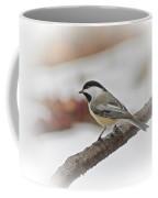 December Chickadee Coffee Mug