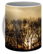 December Forest Dusk Coffee Mug