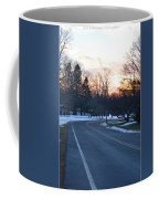 December Sunset Coffee Mug