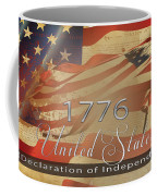 Declaration Of Independence  Coffee Mug by Beverly Guilliams