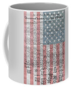 Declaration Of Independence Coffee Mug by Dan Sproul