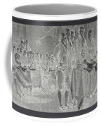 Declaration Of Independence In Negative Coffee Mug