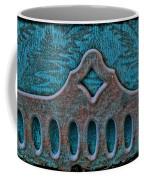 Deco Metal Blue Coffee Mug