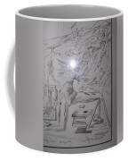 Decomposition Of Kneeling Man Coffee Mug