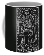Decorated Elephant Coffee Mug