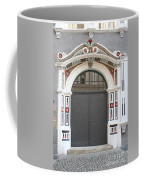 Decorated Old Door Coffee Mug