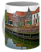 Decorations For Orange Day To Celebrate The Queen's Birthday In Enkhuizen-netherlands Coffee Mug