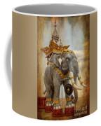 Decorative Elephant Coffee Mug by Adrian Evans