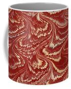 Decorative Endpaper From A Nineteenth Coffee Mug