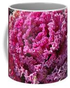 Decorative Fancy Pink Kale Coffee Mug