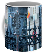 Decorative Iron Fence In New Orleans Coffee Mug