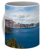 Deep Blue Crater Lake Coffee Mug