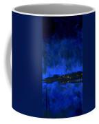 Deep Blue Triptych 2 Of 3 Coffee Mug