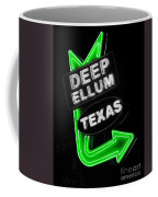 Deep Ellum In Green Coffee Mug