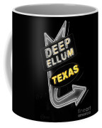 Deep Ellum In Yellow Coffee Mug