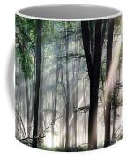 Deep Forest Morning Light Coffee Mug