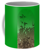 Deep Green Haiku Coffee Mug
