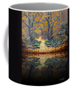 Deep Pond Reflections Coffee Mug