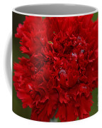 Deep Red Carnation 2 Coffee Mug