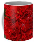 Deep Red Carnation Coffee Mug