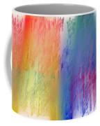 Deep Rich Sherbet Abstract Coffee Mug