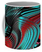 Deep Sea Abstract Coffee Mug